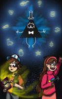 Gravity Falls Poster thingy by Anime-Greek