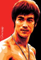 Bruce Lee Art by meltendo