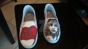 Les Miserables Shoes! by DisneyTolkienFanGirl