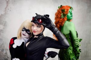 Gotham Sirens by Almost-Human-Cosband