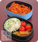 Bento - Spaghetti Napolitan by Chef-Kuching