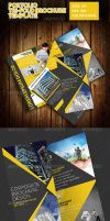 Portolio Corporate Tri-Fold Brochure Template by ExtremeLogo
