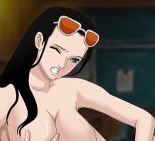 Nico Robin Sexy-10 by cengox