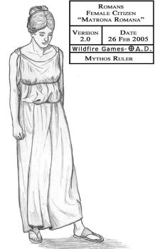 'Matrona Romana' by MythosRuler
