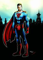 Superman Remixed, Colored by Veritas-a-Aequitas