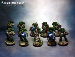 Dark Angel Tactical Squad by Brovatar