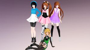 All the UTAU's I have made by Kira-goddess