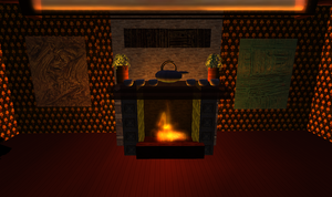 Second Life Fireplace by jassele