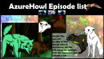 AzureHowl Animation Episode list 1-6 by AzureHowlShilach
