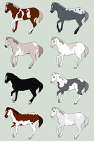 Natural Equine Adopts 5. Renewed by ShadiSin
