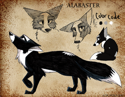 Alabaster Ref. Sheet by Imaje-Train