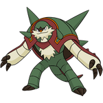 Shiny Chesnaught Global Link Art by TrainerParshen