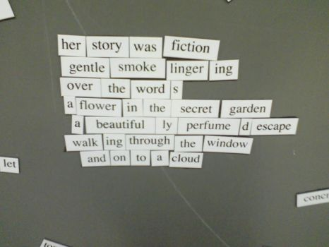 Magnet Poetry 4 - Imaginary by KiwiBri