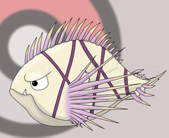 Fakemon: Pricklio by draakkinen