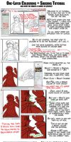 One-Layer Colour + Shading Tutorial by tazsaints