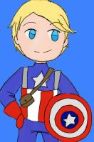 Captain America (?) by Pancake9Andy