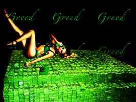 7 Deadly Sins- Greed by lifizzell
