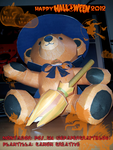 [halloween 2012] teddy bear by poskas