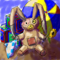 Collab - Lapin Peluche 1 by maybesomecake