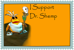 Dr. Shemp Supporter Stamp by LadyALT69