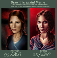 Draw this again! - Lady Revan by hello-ground