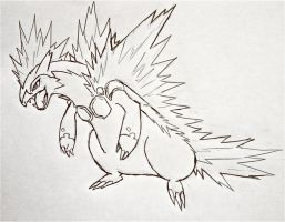 Project Fakemon: Mega Typhlosion v.2 by XXD17