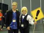 Meeting Crispin Freeman by MilleniumFoxMagician