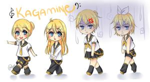 Kagamine March by Mai-Meo