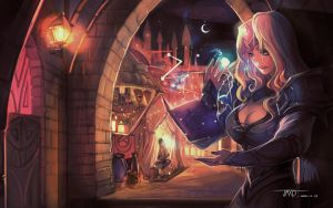 Light of Dalaran-Archmage Rosalind by JMXD