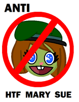 Anti HTF mary sue symbol by CartoonsRuleTheEarth
