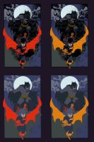 Bats by Ardian Syaf - Flats by TrinityMathews