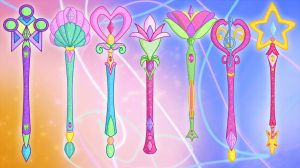 Winx Club - Scepters - FREE Pack by GreatSecretxD