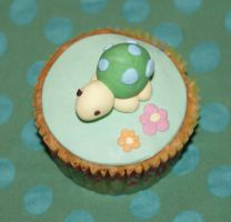 Turtle Cupcake by VPofFantasyland