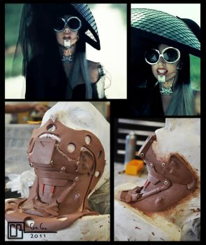Gaga Prosthetic by CB-FX