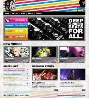 Deep Funk Recrods Web design by Jaan-Jaak