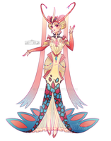 Milotic Gijinka by Flying-Fox