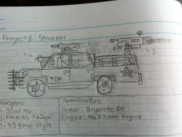 The Strucker Light Attack Vehicle by Target21