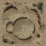 Desert Tower Ruins TileAD20 by Madcowchef