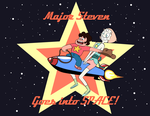 Major Steven goes into SPACE! by Guy-From-South-Asia