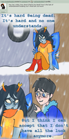 Ask 6: 8eing dead by askSpider8itch