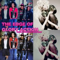 The edge of glory action by FeerKltzRomansky
