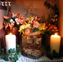 Home altar - early and middlesummer version by LoveLiveLilith