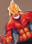 Fire Angry Thing by Heriplayer