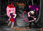 Happy(late) Halloween!! by animelife4ever