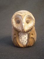 Barn Owl Mini by ginger-roots