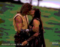 Hercules and Xena by xenathewarrior
