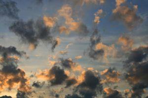 Sky Collection: Mixed Clouds by Germanstock