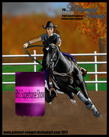 Holly - SH Barrel Racing by painted-cowgirl
