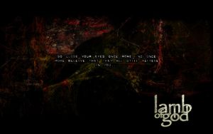 Lamb Of God wallpaper by DAVEAC1117