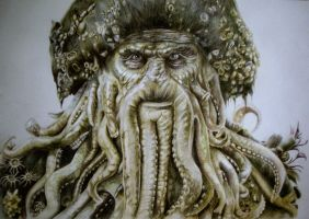 Davy Jones by JuliaBadeeva